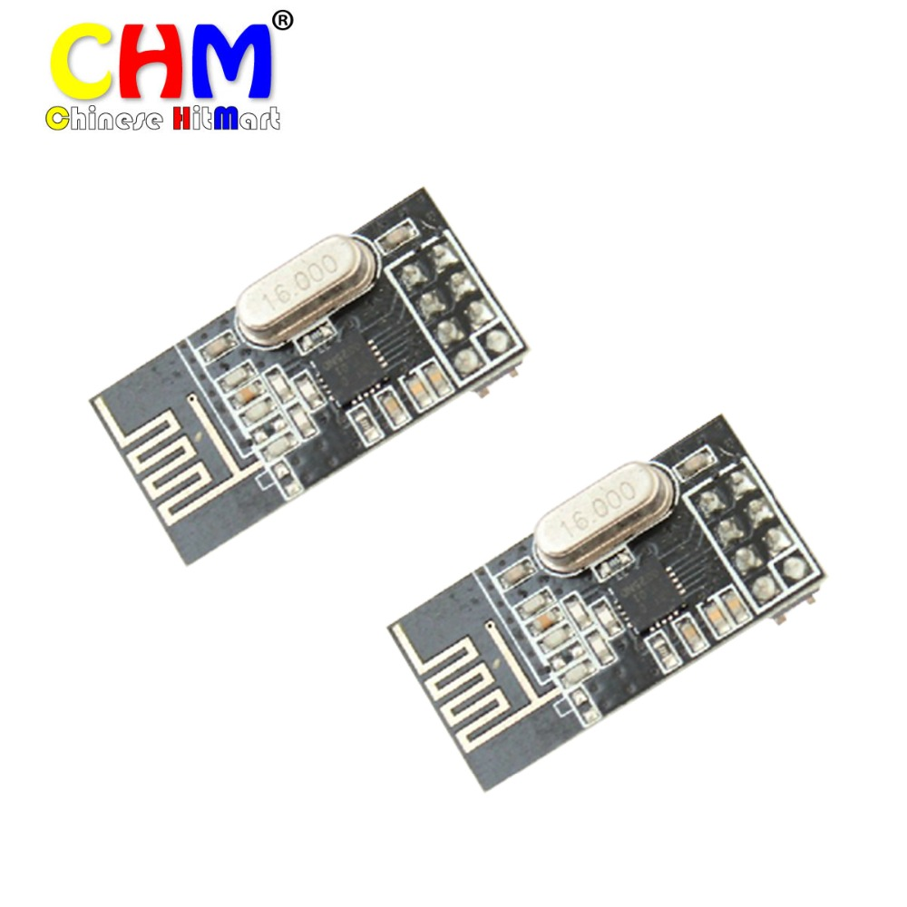 10PCS/LOT NRF24L01+ wireless data transmission module 2.4G / the NRF24L01 upgrade version #LS358-a