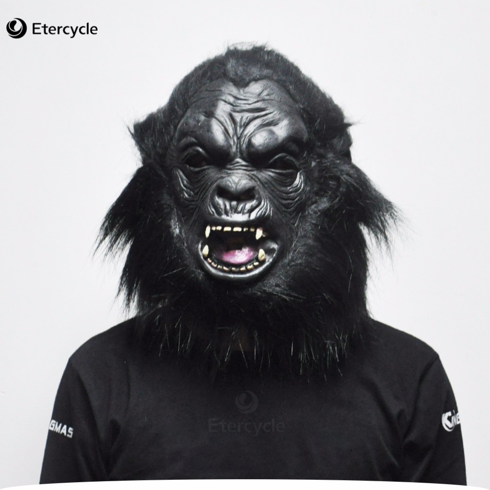 Popular Halloween Chimpanzee Mask-Buy Cheap Halloween Chimpanzee ...