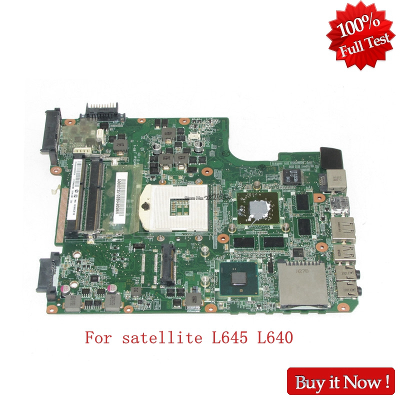 все цены на NOKOTION DATE2DMB8F0 A000073510 For toshiba satellite L645 L640 Laptop motherboard HM55 DDR3 онлайн