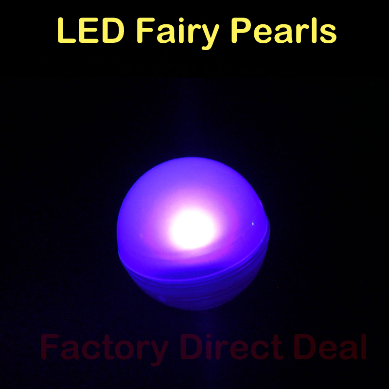 Party Decoration Fairy Light Up Glowing Berries LED Pearl Magic Fascinating Pearl Balls Decoration