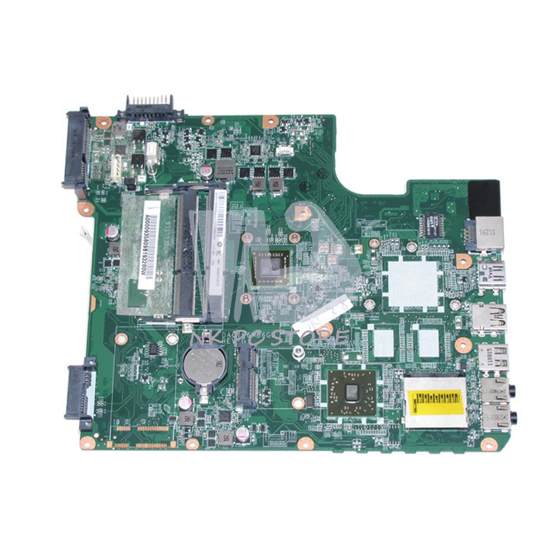 A000093580 Main Board For Toshiba Satellite L745 L745D Laptop Motherboard DA0TE6MB6G0 EME450 CPU DDR3 h000042190 main board for toshiba satellite c875d l875d laptop motherboard em1200 cpu ddr3