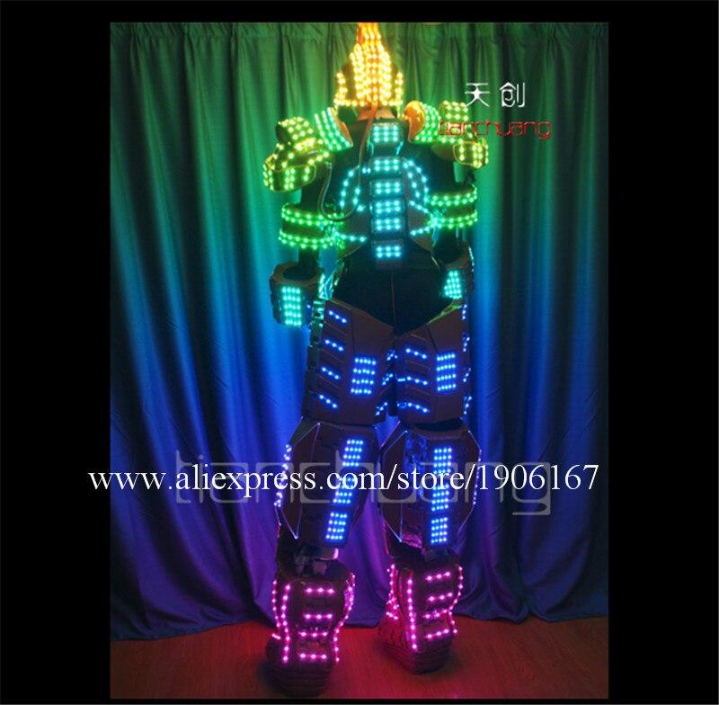 Stilt man LED Robot0