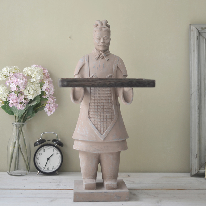 Online buy wholesale xian terracotta warriors from china for Home decorations china