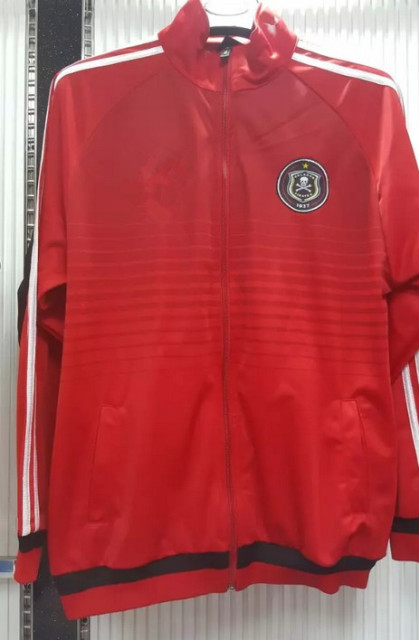 760d4bf9f Thai version 15 16 Orlando Pirates home Away jersey training suit jacket  red coat 2015 2016 jacket free shipping