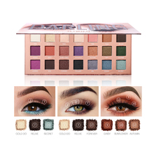 O.TWO.O 21 Colors Eyeshadow Palletes Ultra Fine Powder Pigmented Shadows Glitter Diamond Shimmer Makeup Eye Shadow Palette