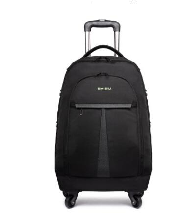 Men Cabin Luggage Bag with wheels Rolling Trolley bags Business Travel Bag wheeled backpack  For men carry on luggage suitcase hand luggage