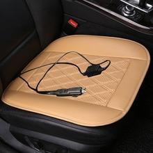 12V Winter Heated General Car Seat Chair Pad For Benz A B180 C200 E260 CL CLA G GLK300 ML S350/400 class Car pad