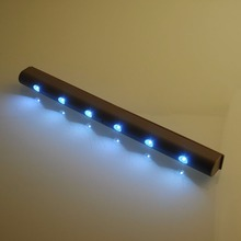 Wireless PIR Motion Sensor 6 LED Light Room Modern Lamp White Lighting