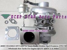 RHB5 VE430023 8971480762 VICC VI95 Turbine Turbo Turbocharger For ISUZU Rodeo Holden OPEL Frontera 1993-98 4JG2TC 4JBITC 3.1L