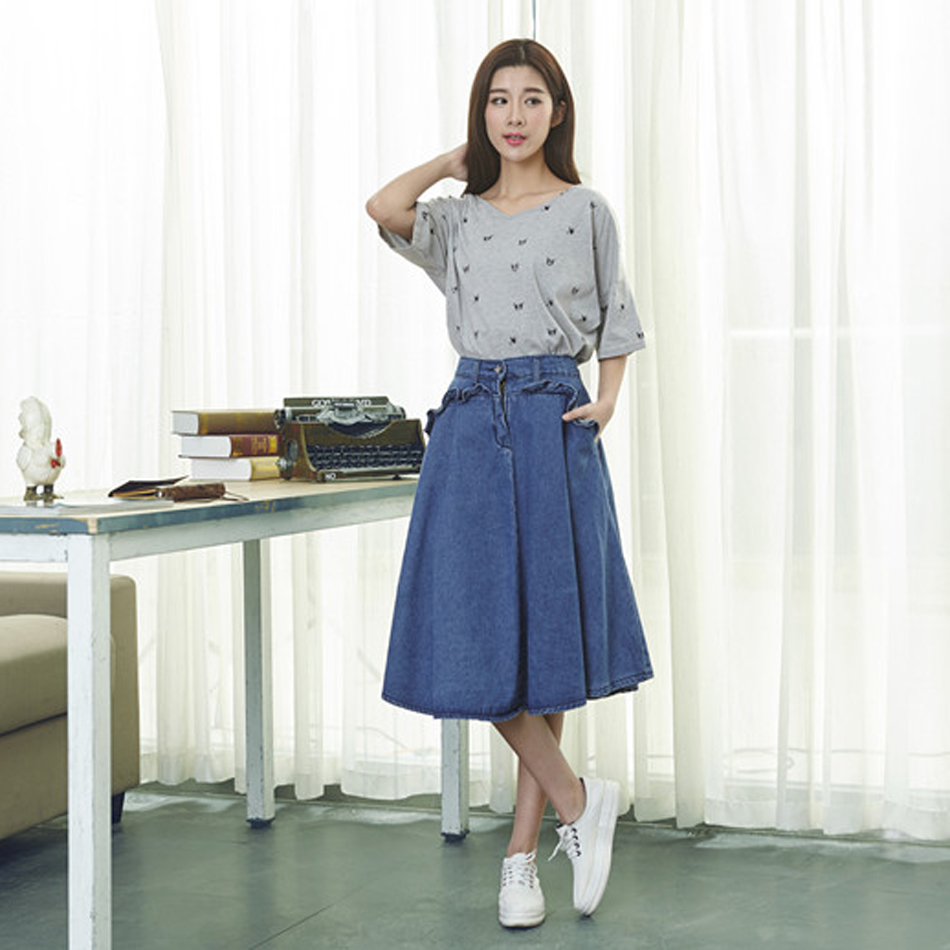 Popular Blue Midi Skirt-Buy Cheap Blue Midi Skirt lots from China ...