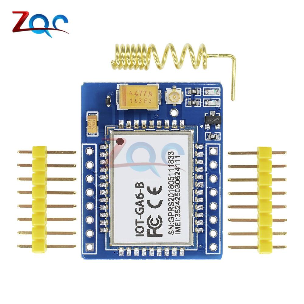 Mini A6 GA6 GPRS GSM Kit Wireless Extension Module Board Quad-band Antenna Tested Worldwide Store Replace SIM800L for Arduino 1pcs sim808 wireless board gps gsm gprs bluetooth module replace sim908 ck