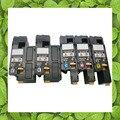 Compatível para Epson AcuLaser C1700 1700 C1750 1750 CX17 toner cor BK X 2 + CMY