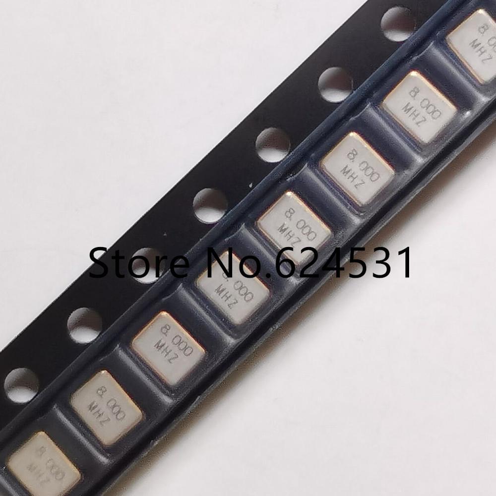 10pcs Passive patch crystal 3225 3.2*2.5mm 4 feet 8M 8MHZ 8.000MHZ 12PF 15PF 20PF resonator