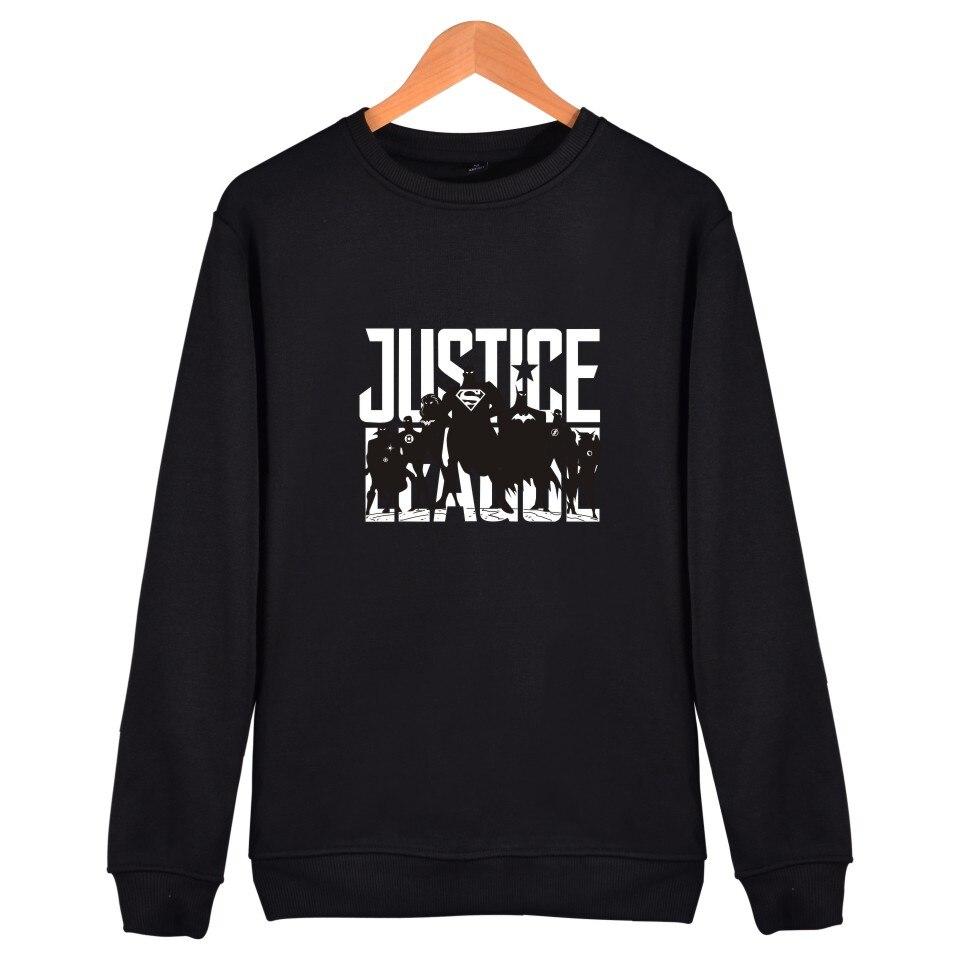 bts justice league 4xl streetwear fashion trend sweatshirt black in