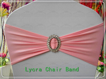 2/2--With Oval Buckle Spandex Bands/Lycra Band/Expand Bands/Chair cover sash For Wedding Party Banquet Decorations