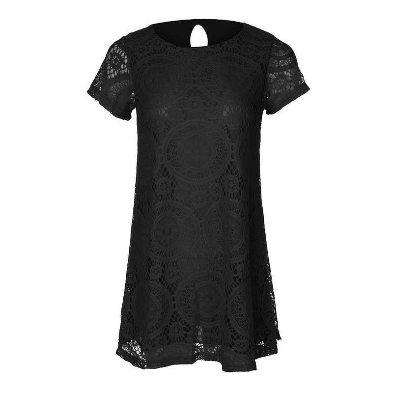 Laamei 5XL 女性の夏の半袖 O ネックのレースのドレスエレガントなウェディングパーティーボディコンセクシーなドレス女性 Veastidos プラスサイズ