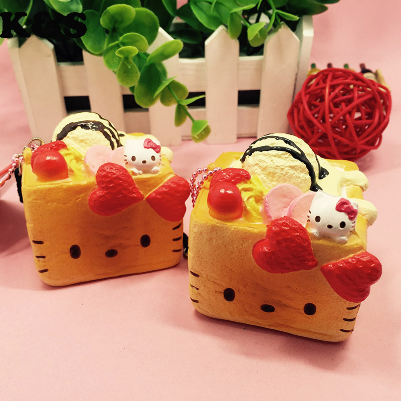 Squishy Cake Toy Target : Aliexpress.com : Buy Rare Squishy Hello kitty Block Cake Simulation Food Squishy toys Cute Sweet ...