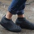 1 пара многоразовых водонепроницаемых нескользящих резиновых чехлов для дождевых ботинок эластичные галоши для ботинок для путешествий и ...