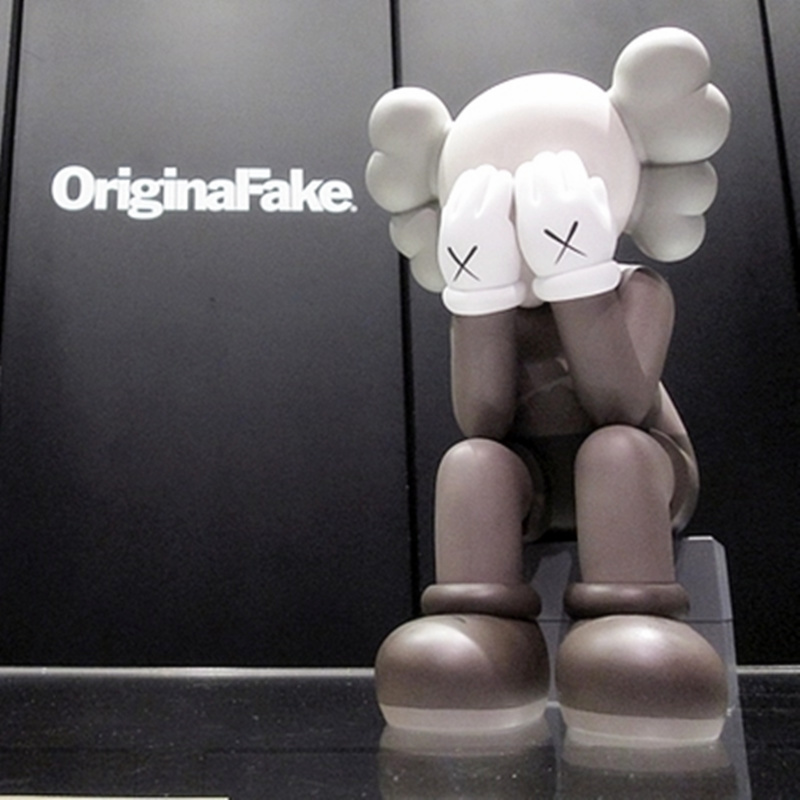 BFF KAWS OriginalFake Companion Street Art Harbour City PVC Action Figure Collection Model Toy G1085 все цены