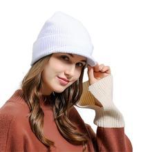 MUQGEW Creative Comfortable Stretch Creative Men Women Baggy Warm Crochet Winter Wool Knit Ski Beanie Skull