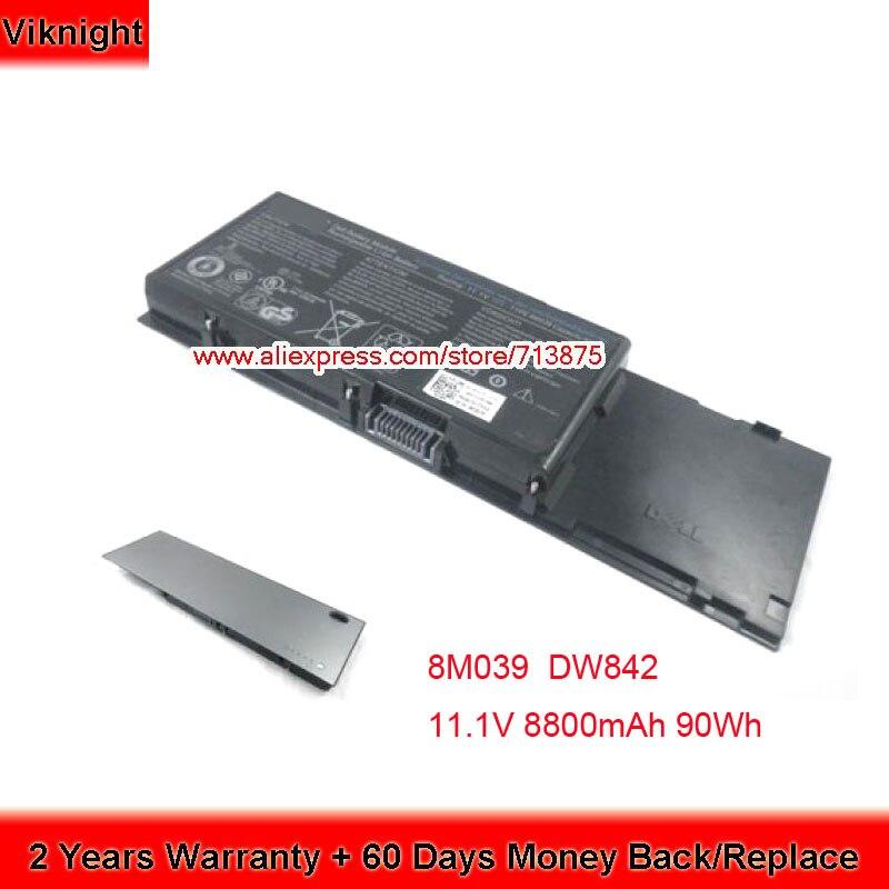 Genuine 11.1V 90Wh 8M039 Battery For DELL Precision M6500 Battery M6400 C565C DW842 J012F KR854 PP08X001 4P887 P267P PG474