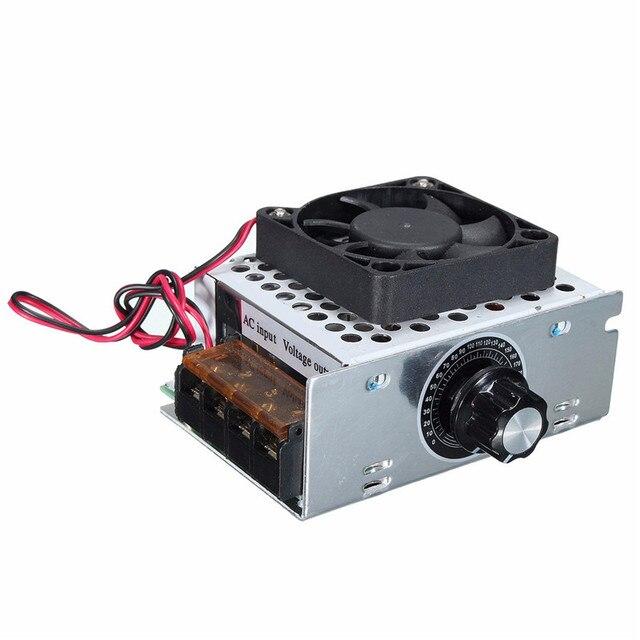 Schema Elettrico Regolatore Di Tensione Velocità Motore Elettrico Corrente Continua : Ac 220 v 4000 w scr elettrico regolatore di tensione dimmer