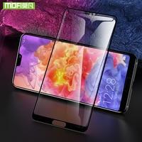 Mofi Para Huawei P20 P20 Pro protetor de tela Para a Huawei Lite vidro protetor de tela de vidro temperado de cinema capa Para Huawei P20 Protetores de tela de telefone     -