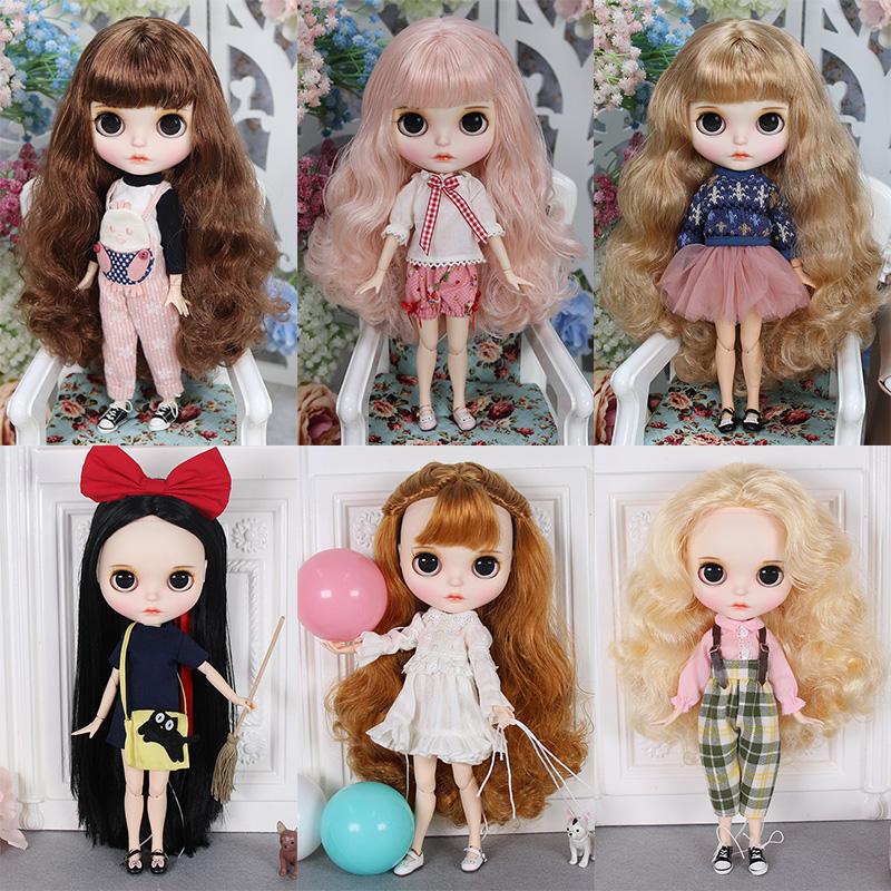 Blyth Doll 1 6 Joint Body New hand painted matte face white skin suit doll 30cm