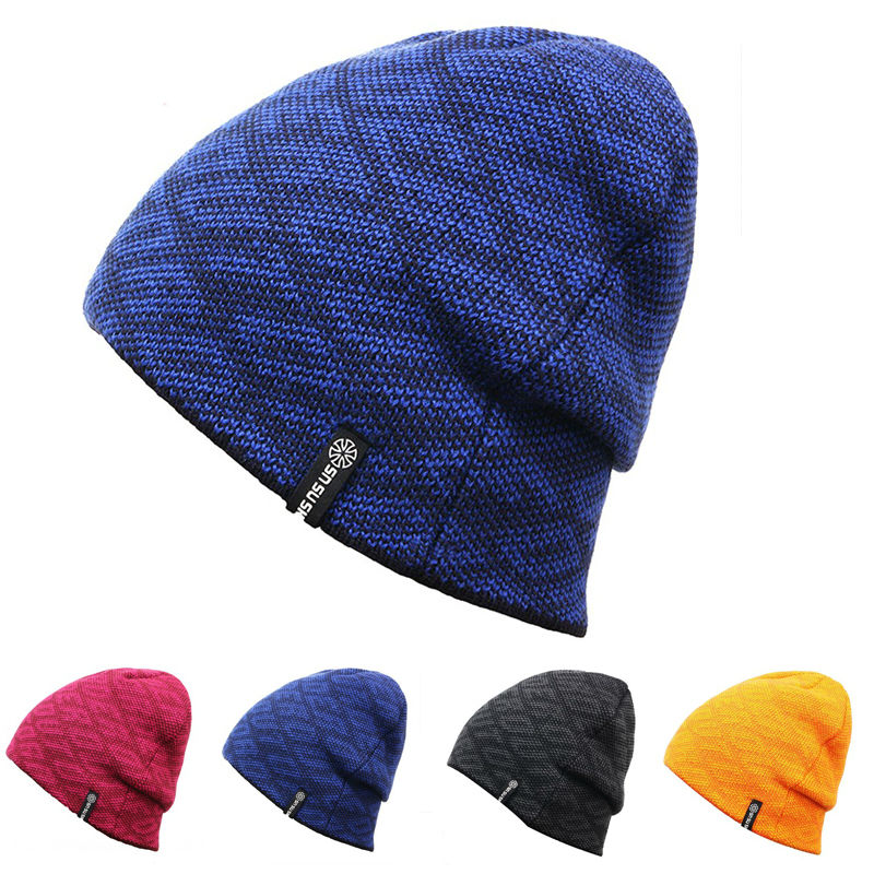 Unisex Men Women Skiing Hats Warm Winter Knitting Skating Skull Cap Hat Beanies Turtleneck Caps Ski Cap Snowboard Hats pink ski helmets cover motorcycle skiing helmets best outdoor safety helmet for skiing snowboard skating adult men women