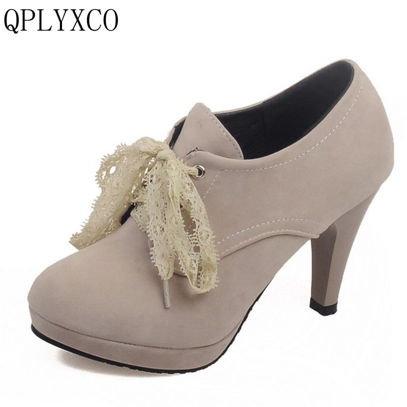 QPLYXCO New Sale Fahion shoes woman Big small size 32-45 super high heels (9.5cm) women shoes wedding zapatos mujer shoes C6-12 alfani new black women s size small s mesh back high low ribbed blouse $59 259