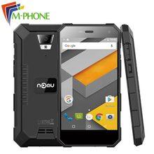 Ventes chaudes Nomu S10 Antipoussière Mobile Téléphone 5000 mAh 5 pouce MTK6737 Quad Core 1.5 GHz 2 GB RAM 16 GB ROM 4G LTE Android 6.0 Cellulaire Téléphone