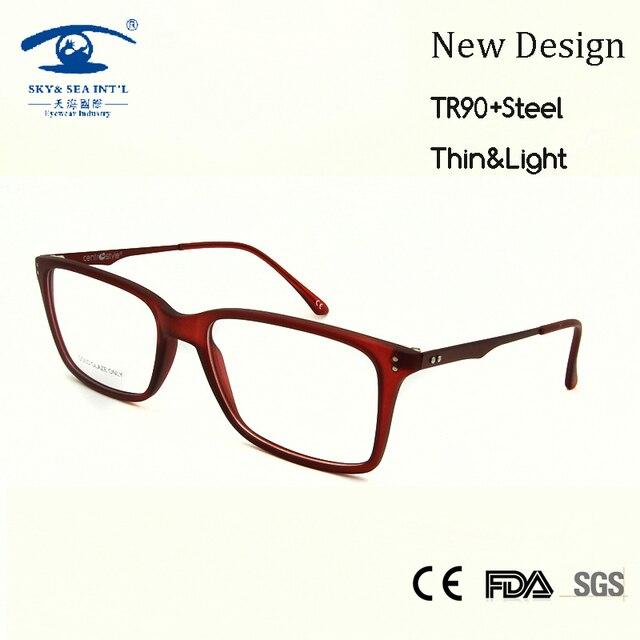 New 2016 Italy Spectacle Frame TR90 Glasses Women Light Weight oculos de  grau feminino Red Nerd 734548b157