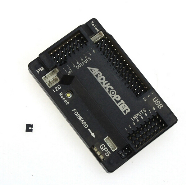 цена на APM2.8 APM 2.8 Multicopter Flight Controller 2.5 2.6 Upgraded Built-in Compass Straight pin F15441