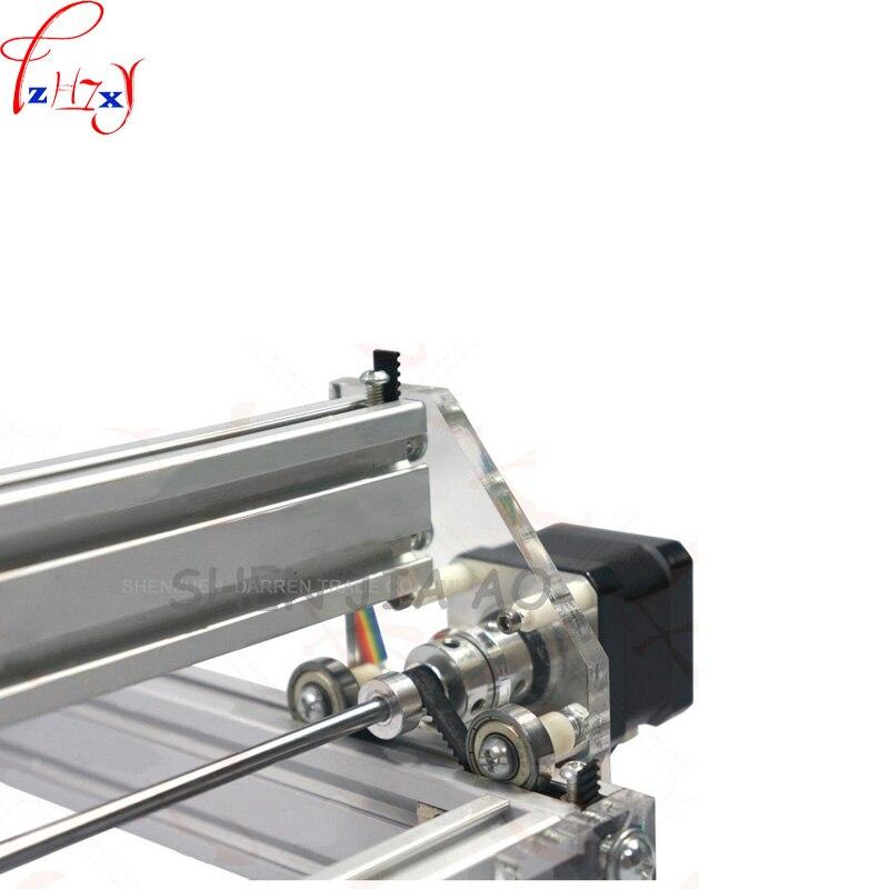 1 шт. 1,5 Вт DIY мини лазерная гравировальная машина 1500 МВт Настольный DIY Лазерный гравер гравировальный станок изображение CNC принтер DC12V - 4