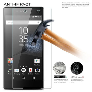 Image 3 - 2PCS Z5 Premium Screen Protector 9H Tempered Glass For Sony Xperia Z5 Premium Dual E6833 E6853 E6883 Z5P plus Protective Glass