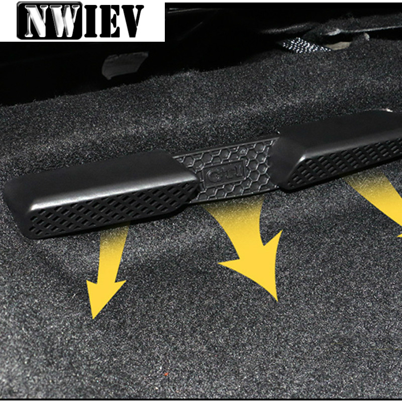 Car Under Seat Air Conditioner Air Outlet Duct Vent Protective Cover Grill For VW Passat B8 NMS Jetta MK6 Vento Scirocco MK3