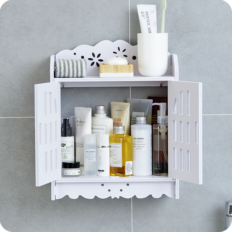 Home Bathroom Wall Hanging Storage Rack