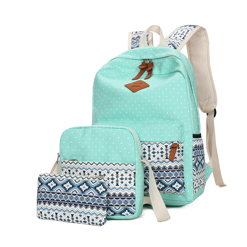 Fashion Ethnic Style Women Backpack High Quality Canvas Backpacks Kids School Bags For Girls Mochila Feminina