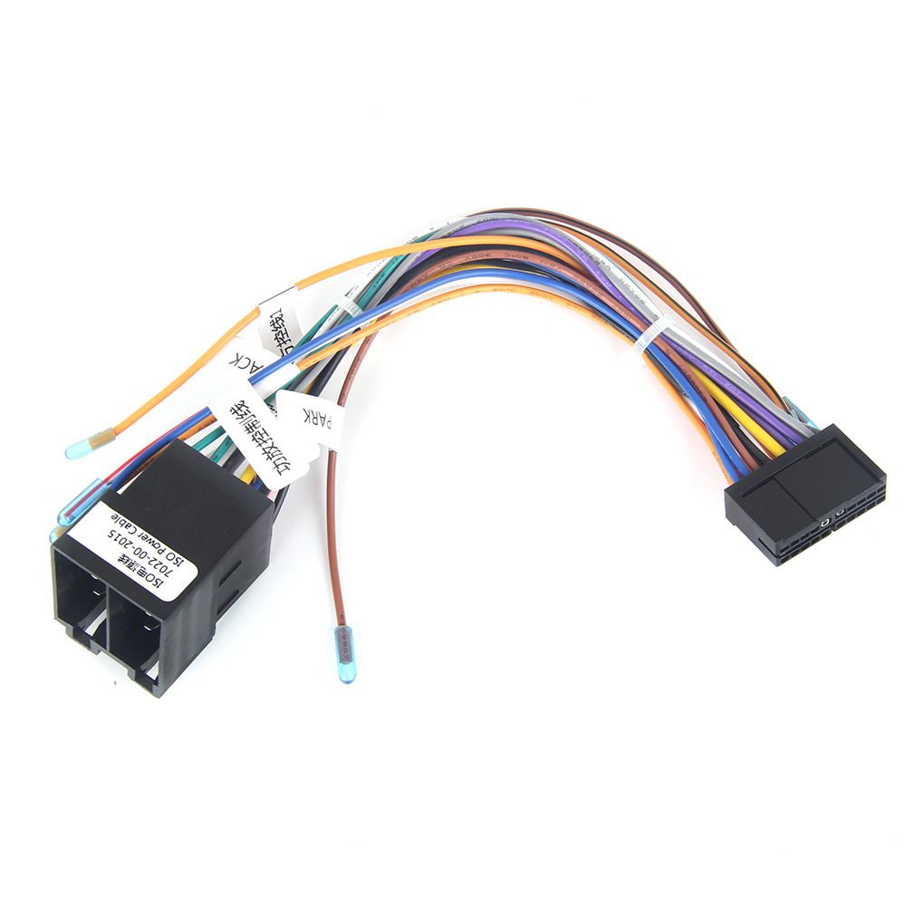 small resolution of dasaita dyx002 car radio female iso connector wiring harness adapter power cable for vw polo audi