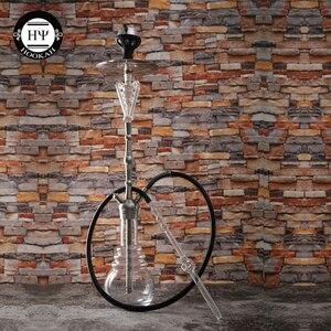 Image 5 - Dia18.8mm cam nargile pekmez Catcher sigara tütün yağ toplayıcı nargile konnektör adaptörü lüks Narguile