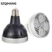 AC85 265V PAR30 E27 40W led spot light Warm Natural Cold White led lamp,2 years warranty 120 degrees