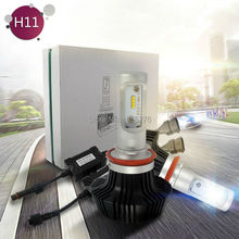 TAITIAN 50W 8000LM G7 H11 LED Headlight Conversion Kit H8 H9 Bulbs White 6500K h11 in Car Light Source led car  Auto headlamp