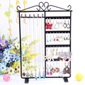 High Quality Earrings Display Shelf 6 Layers Earring Holder Rack Jewelry Hanger Frame Dangle Earring Show Necklace Ear Stud Case