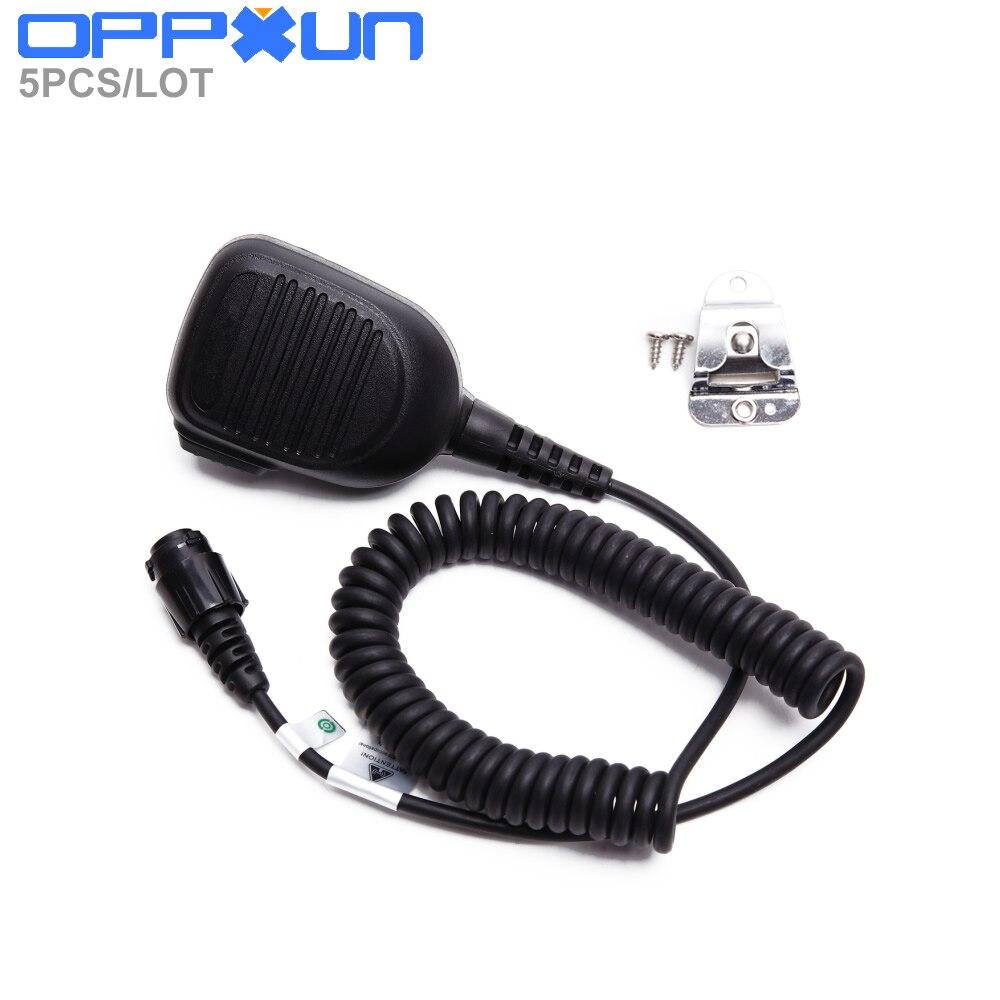 5PCS/LOT RMN5052A Speaker Mic For Motorola M8268 XPR4300 XPR4500 XPR4550 DGM4100 Digital Mobile Radio
