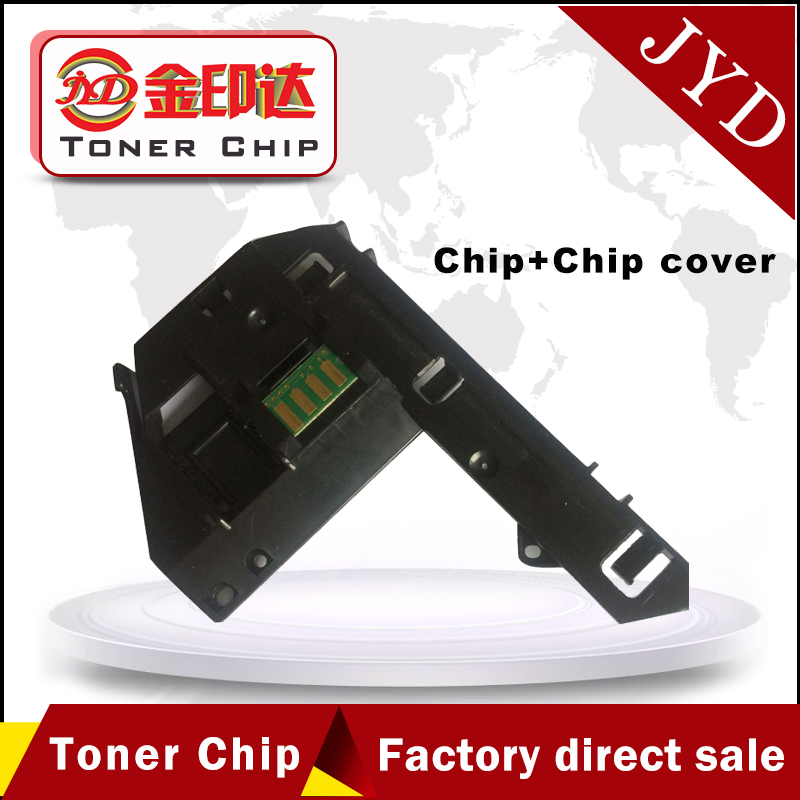US $14 9 |Drum Chips and Chip Cover for Xerox P355D M355DF P455D P355 P455  CT350973 CT350976 drum cartridge reset-in Cartridge Chip from Computer &