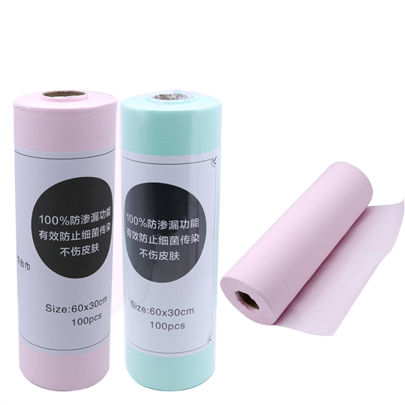Disposable Pillow Hand Holder Nail Art Salon Practice Cushion Table Mat Pad Waterproof and Absorbent Double sided Manicure Tool in Nail Art Equipment from Beauty Health
