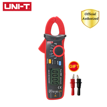 UNI-T UT210C Digital Mini Clamp Meter Auto Range AC DC Voltage Temperature Capacitance Resistance NCV Diode Test Multimeter