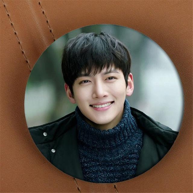 Youpop KPOP Healer Ji Chang Wook Album Brooch K POP Pin Badge Accessories  For Clothes