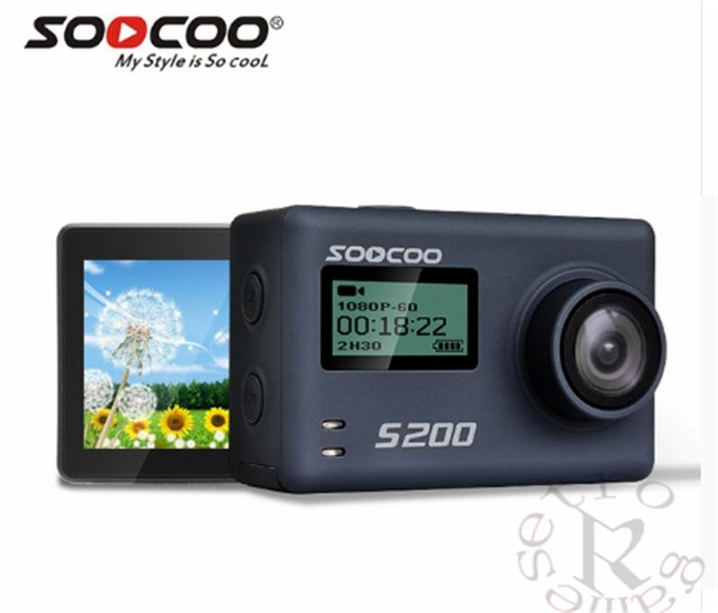 Unterhaltungselektronik Imx078 Mit Wifi Gryo Voice Control Externe Mic Gps 2,45 touch Lcd Gewidmet Soocoo S200 Action Kamera Ultra Hd 4 Karat Ntk96660