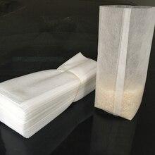 100 шт нетканые мешки для питомника многоразмерные биоразлагаемые мешки для выращивания растений тканевые горшки для рассады экологически чистые аэрации посадочные сумки
